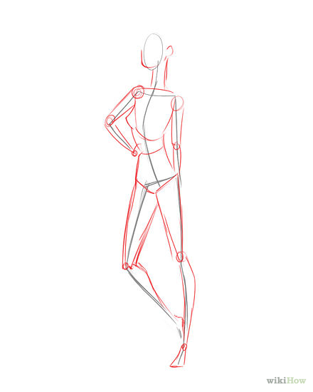 440x550 Draw Fashion Figures Fashion Figures, Sketches And Fashion Sketches
