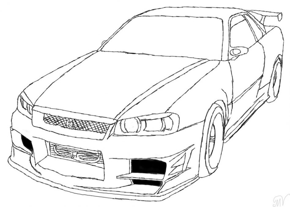 948x677 Fast And Furious Coloring Pages With Wallpaper Wide