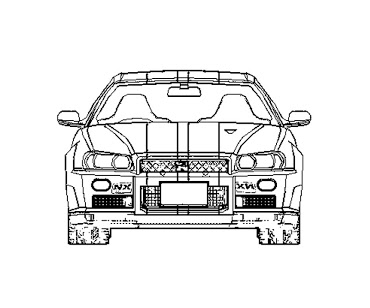370x308 15 Images Of Fast And Furious Coloring Pages 1