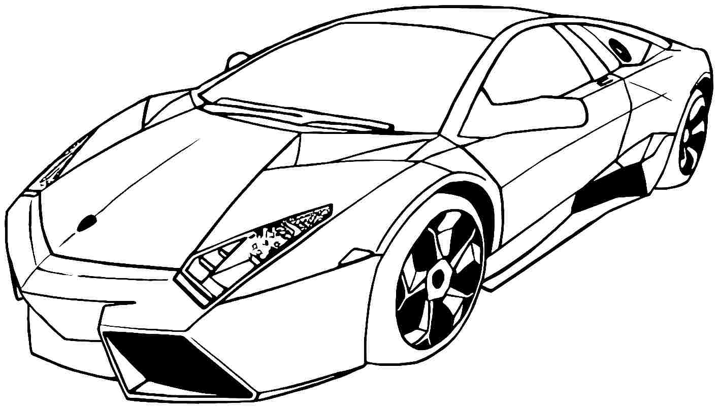 fast cars coloring pages to print | Fast Car Drawing at GetDrawings.com | Free for personal ...