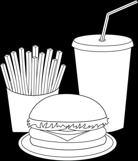 Fast Food Drawing