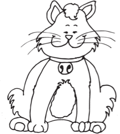 244x273 How To Draw A Cartoon Fat Cat