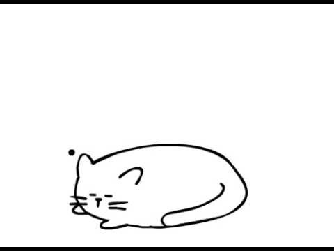 480x360 The Fat Cat Animation (No Sound)