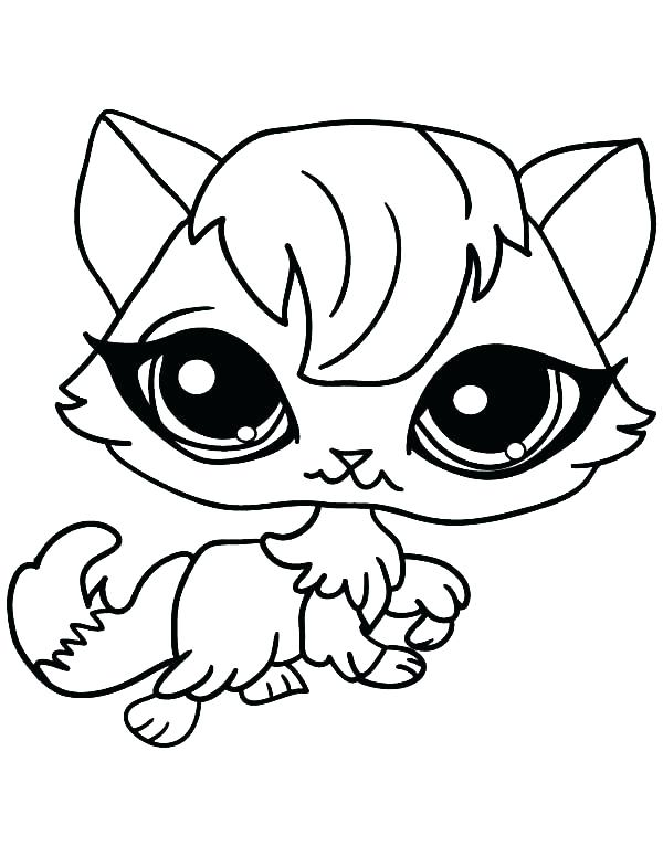 600x776 Cat Coloring Page Cute Pages Item Fat