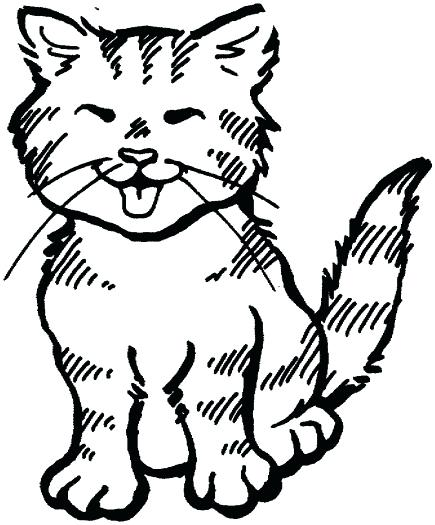 435x525 Cat Coloring Pages To Print Printable Coloring Pages Of Printable
