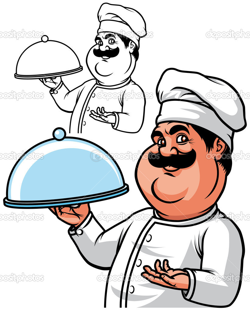 821x1024 Fat Chef Cartoon Cartoon Chef