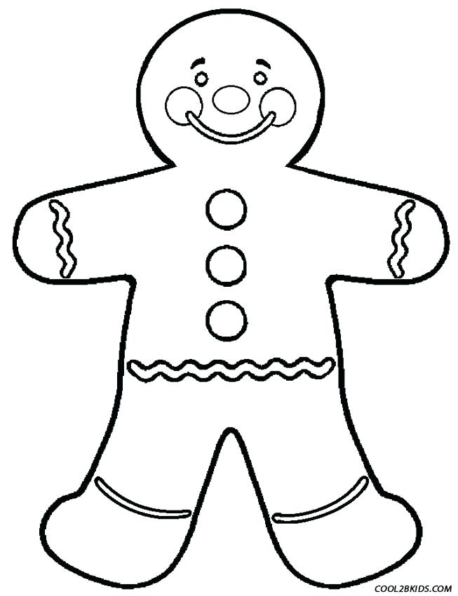 653x850 Picture Of Gingerbread Man To Color Chef Coloring Page Gingerbread