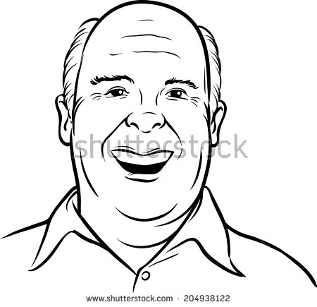 450x435 Image Result For Old Fat Guy Face Drawing Design For The Visit