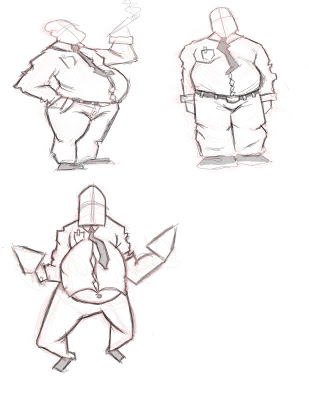 309x400 Wes Kadong Gandroonk Fat People Drawing