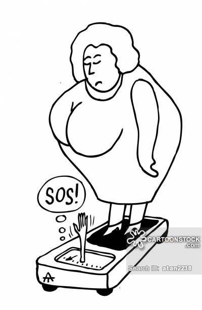 400x612 Fat Lady Cartoons And Comics