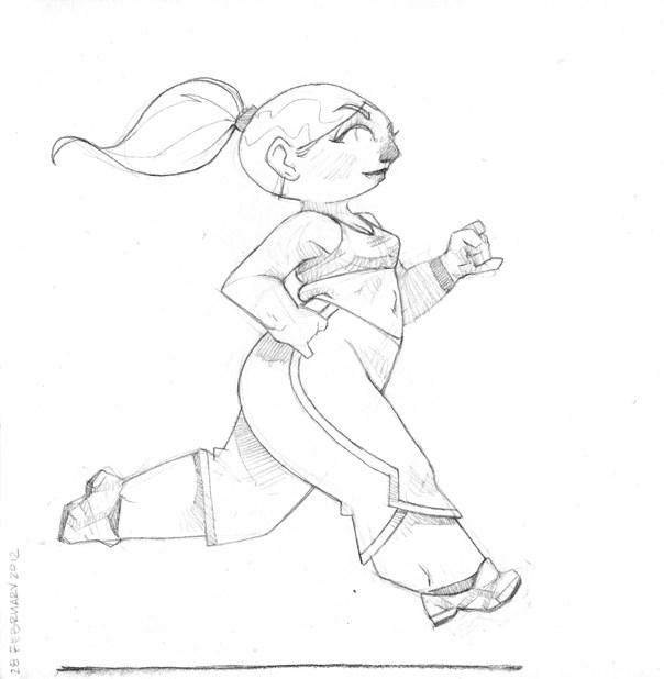604x618 Run, Fat Girl, Run. Valentine Barker
