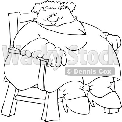 Fat Lady Drawing At Getdrawings Com Free For Personal Use Fat Lady