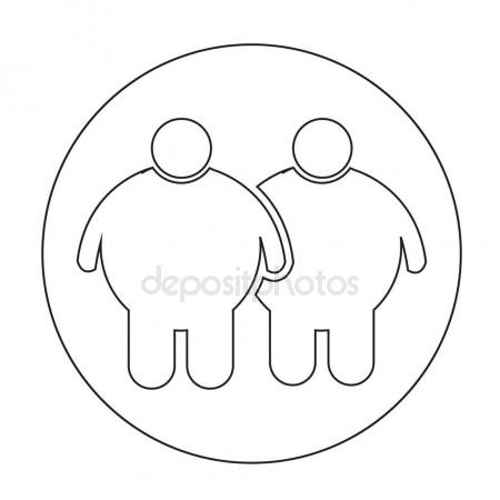 450x450 Fat People Eating Stock Vectors, Royalty Free Fat People Eating