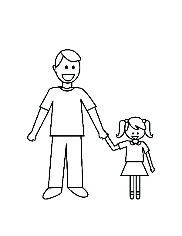 600x776 Dad Coloring Pages Superhero Dad Coloring Pages Best Fathers Day