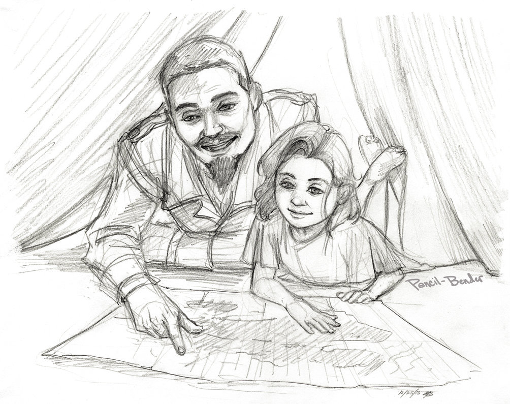 1004x795 Drawing Of Father And Daughter 432 Best People Images