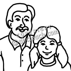 300x300 Clip Art Father And Daughter Clipart Panda