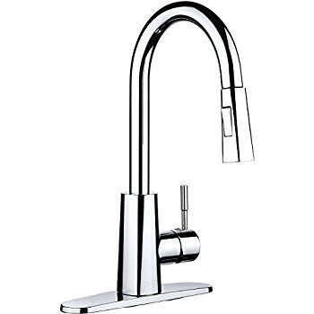 350x350 Ph7 Single Handle Pull Down Sprayer Kitchen Sink Faucet Faucet