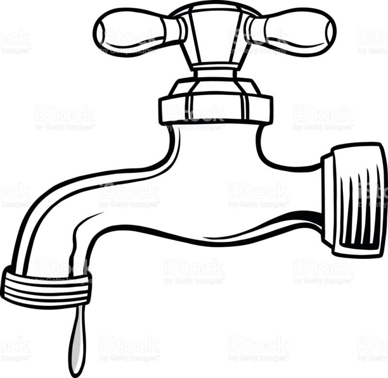 faucet drawing at getdrawings com