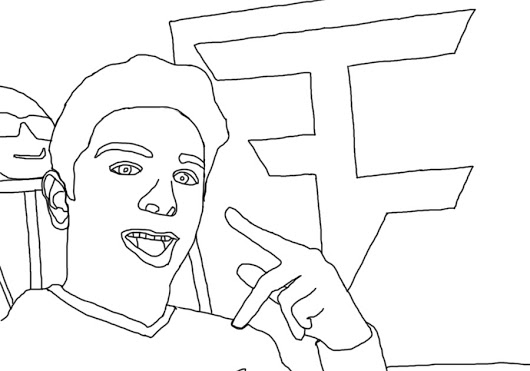530x371 Faze Rug Coloring Book Page Digital Art P4mms 8 10917 Project