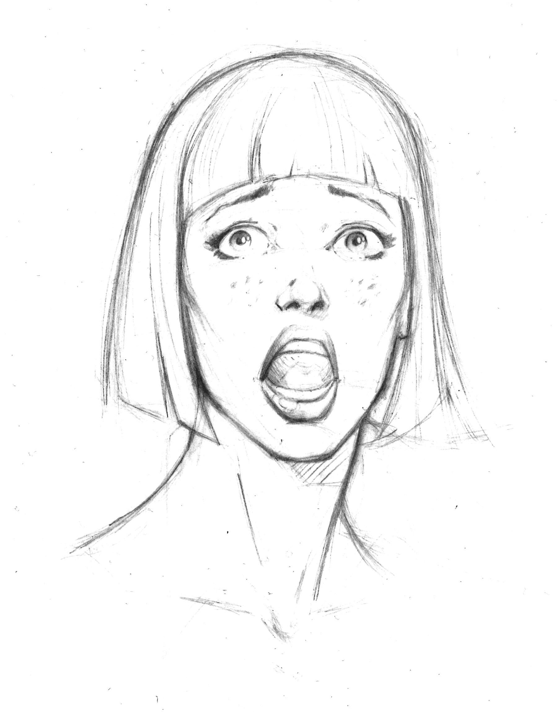1804x2297 Facial Expression, Fear, Afraid The Pick Up Facial