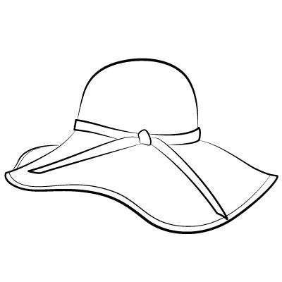 400x400 Floppy Hat Clipart