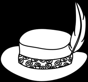 298x279 Hat Drawings Clip Art