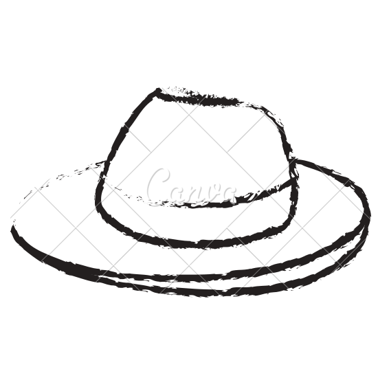550x550 Tourist Hat Isolated Icon