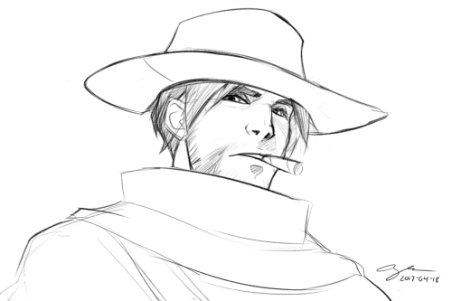 500x333 It Never Ends, Bless You For Your Mccree Art (And Of Course Your