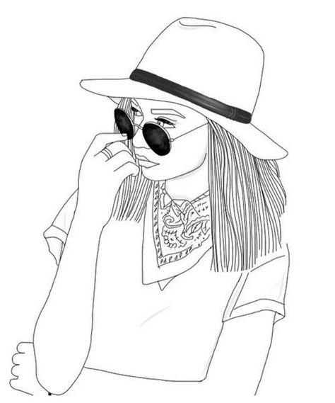 474x569 Tumblr Girls Drawing