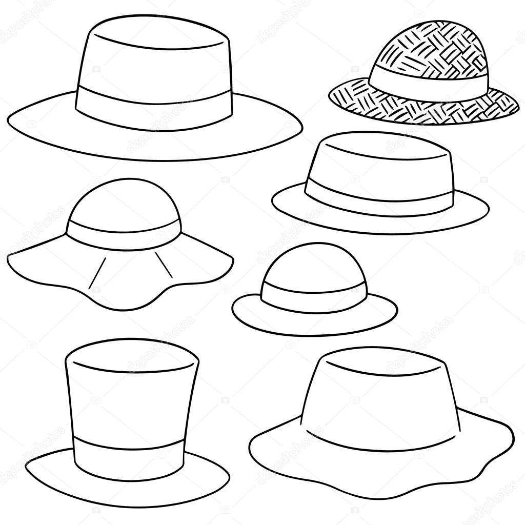 1024x1024 Vector Set Of Hat Stock Vector Ourlifelooklikeballoon.hotmail