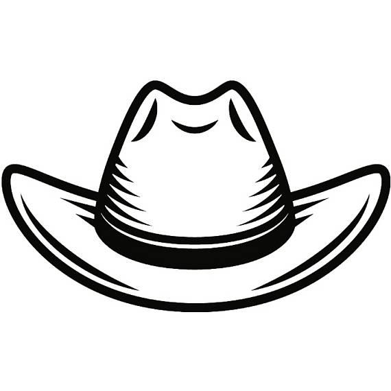 570x570 Cowboy Hat 9 Leather Felt Cap Country Western Horse Bull