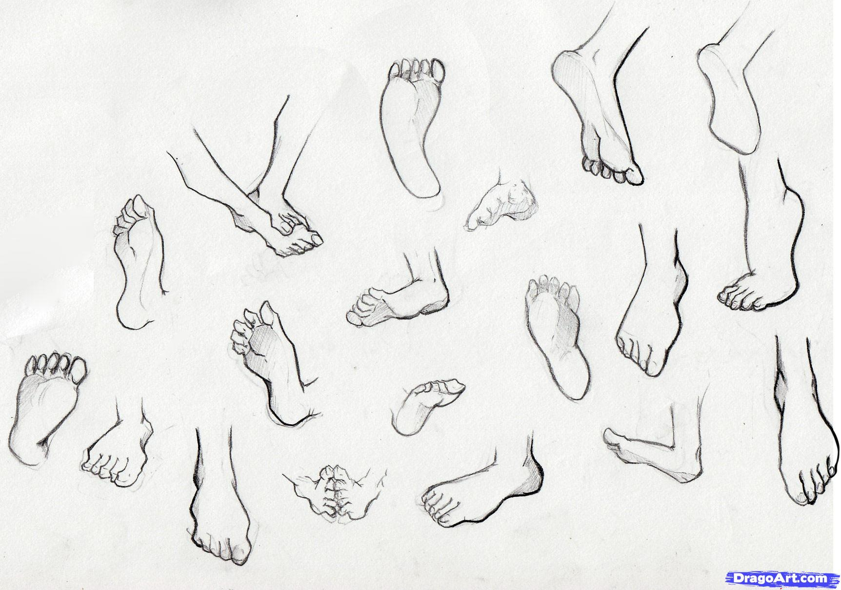 1724x1210 Drawing Anime Feet