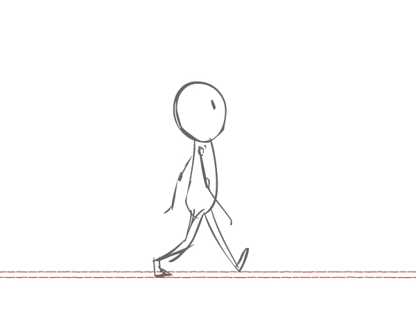 600x469 Animation For Beginners How To Animate A Character Walking