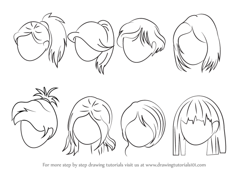 800x566 learn how to draw anime hair