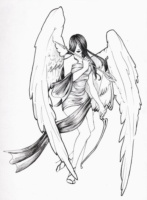 600x816 Angel Archer By Archercaptain