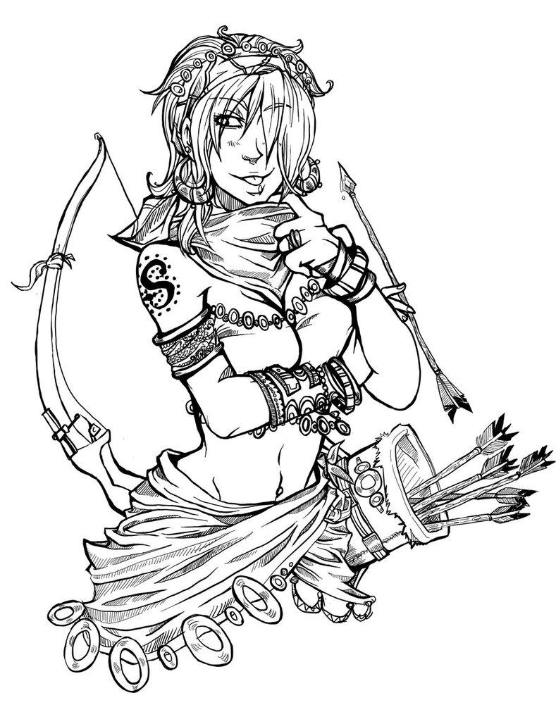 789x1011 Miss Archer By Syrahde