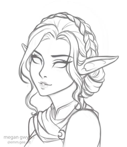 500x577 Night Elf Archer Tumblr