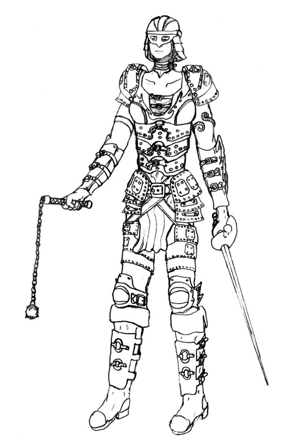 600x909 Fantasy Female Armour By Kingspikearcher