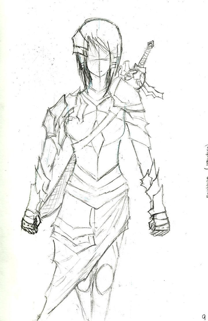 720x1110 Female Armor By Kousou