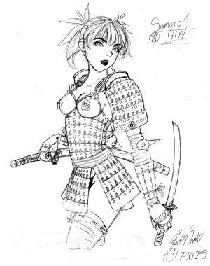 300x380 Female Samurai Armor Pic Tousando