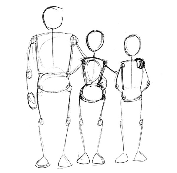 600x587 Human Anatomy Fundamentals Advanced Body Proportions