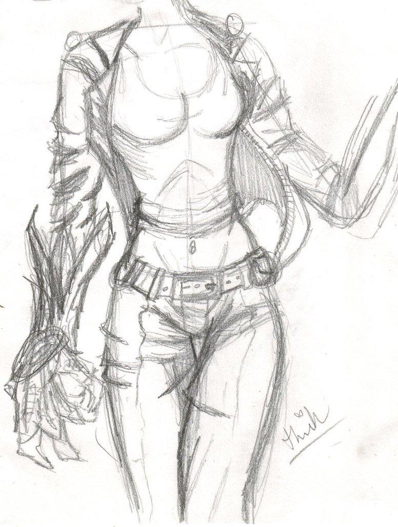 776x1029 Female Comic Body By Pixieelfchicken
