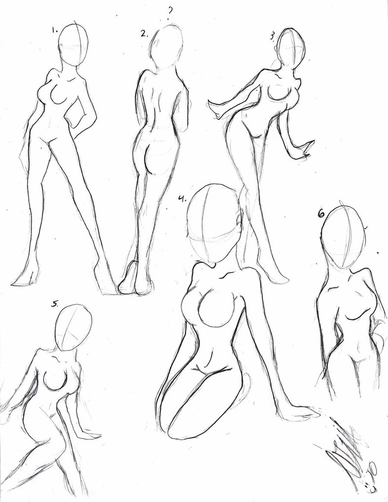 786x1017 Female Body Practice By Cosmiccheesecake