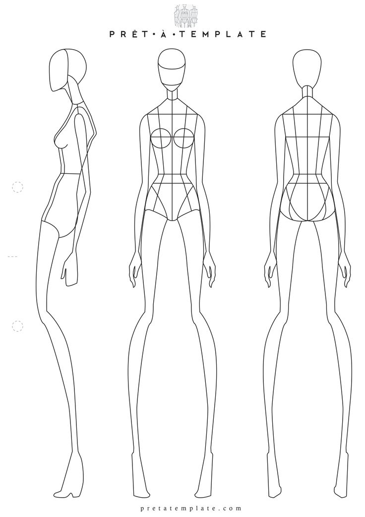 Female Body Drawing Template at GetDrawings.com | Free for personal ...