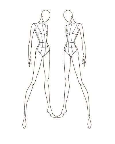 400x500 Swashbuckling Fashion Sketch Templates Picture 46 Fashion