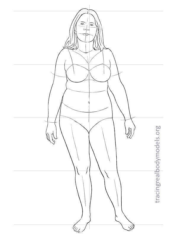 598x792 Fashion Figure Template 0012 Drawing The Body (