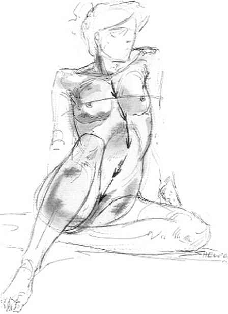 448x617 Body Construction In Drawing