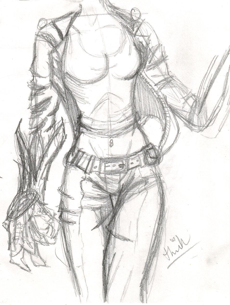 957x1269 Female Comic Body By Pixieelfchicken