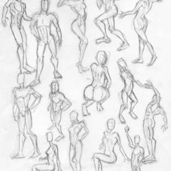 250x250 Human Drawing, Pencil, Sketch, Colorful, Realistic Art Images