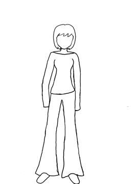 girl body outline - Vatoz.atozdevelopment.co